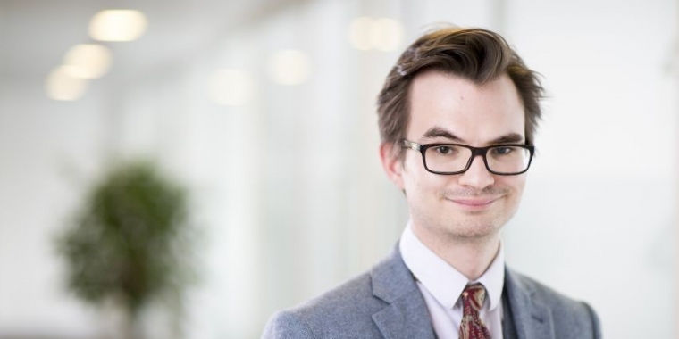 Trainee graduate to patent attorney - Tom Woodhouse