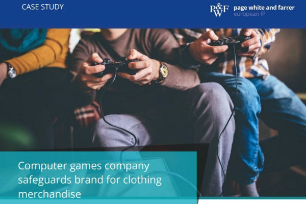Page White and Farrer case study: Computer games company safeguards brand for clothing merchandise