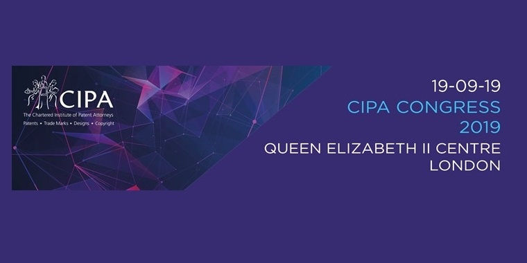 Chartered patent attorneys Kelda Style and David Williams to attend CIPA Congress 2019