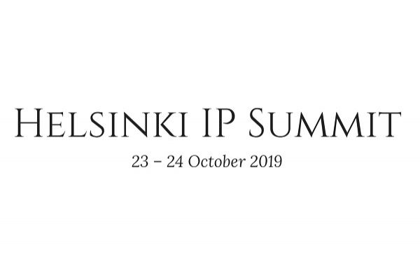 JP Ruuskanen to speak at global IP Summit in Helsinki