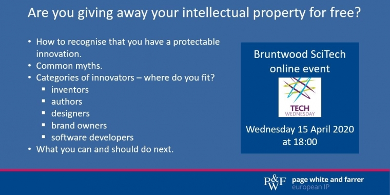 Are you giving away your intellectual property for free?