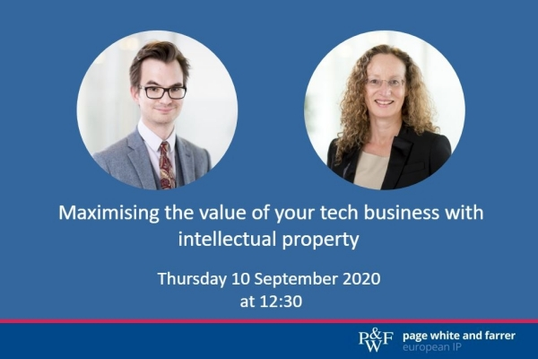 Maximising the value of tech businesses by guarding software innovation with intellectual property