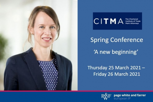 Page White and Farrer attends CITMA Spring Conference