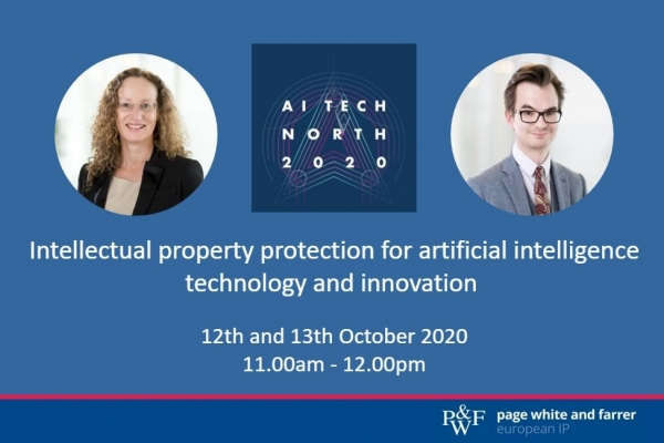 IP protections for AI tech and innovation, Page White and Farrer