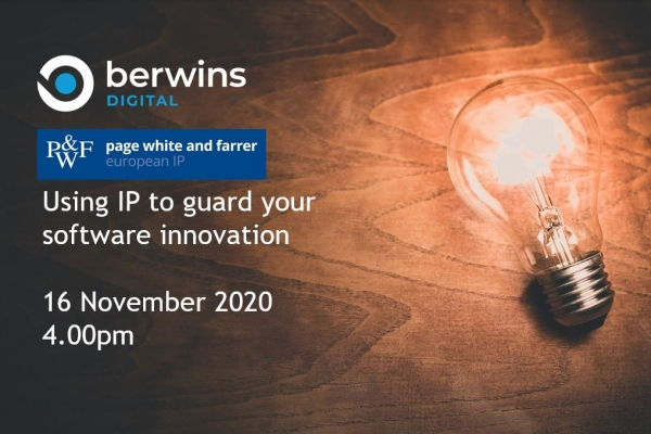 Webinar: Using IP to guard software innovation with Berwins Digital