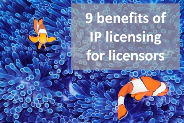 Key benefits of IP licensing