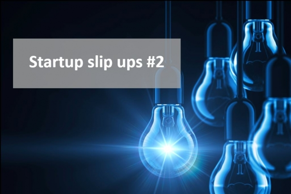 Startup slip up #2 - Failing to check potential brand names with a trade mark attorney