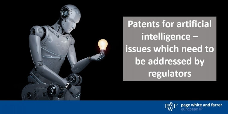 Patents for artificial intelligence