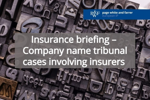 Insurance briefing: Company name tribunal cases involving insurers