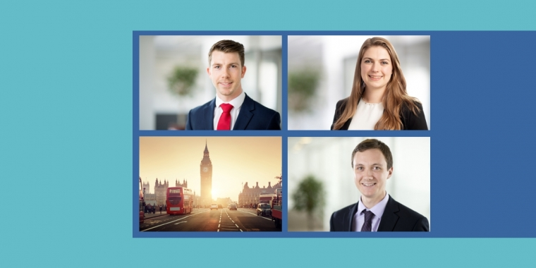 Summer promotions in the London office