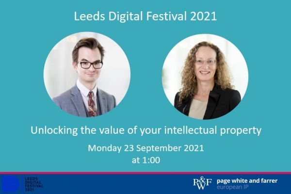 Unlocking the value of your IP at Leeds Digital Festival