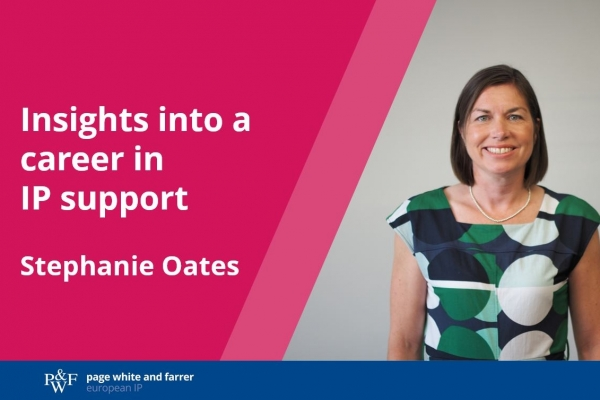 Behind the scenes – insights into a career in IP support
