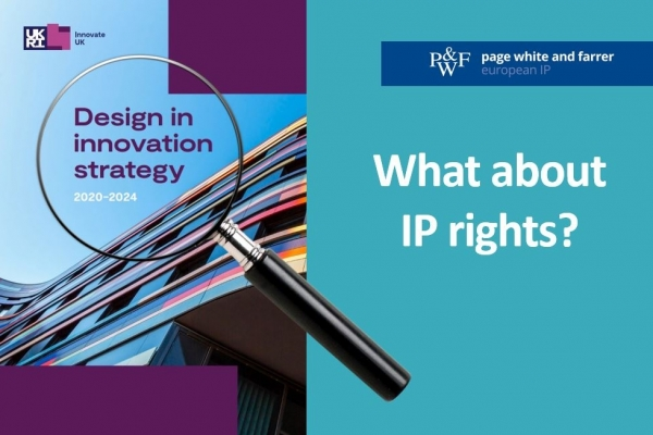 Benefits of registering a design missing from UKRI's 'Design in Innovation Strategy'