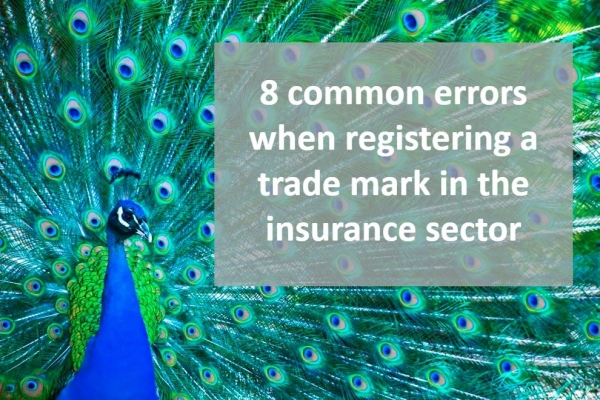 Common errors when registering a trade mark in the insurance sector