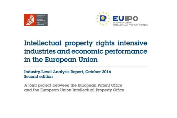 EU IPO Intellectual property rights intensive industries and economic performance in the European Union
