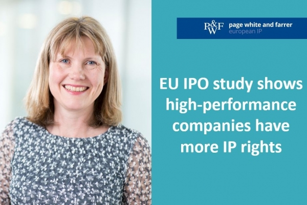 EU IPO study shows high-performance companies have more IP rights