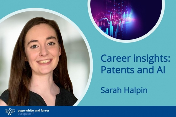 Career insights: Patent law and AI