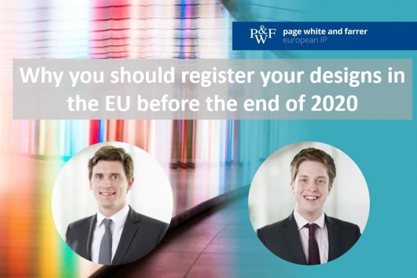Introduction to cloned UK registered designs for EU registered designs rights holders