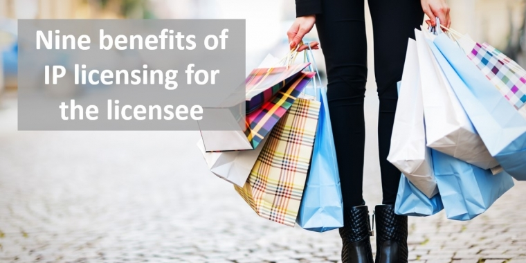 Nine benefits of IP licensing for the licensee