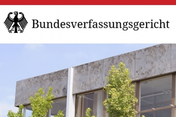 Act of Approval declared void by German Federal Constitutional Court, Bundesverfassungsgericht